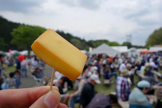 チーズの薫製