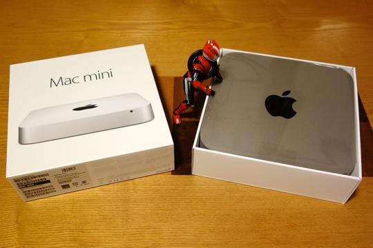 Mac mini開封(2)