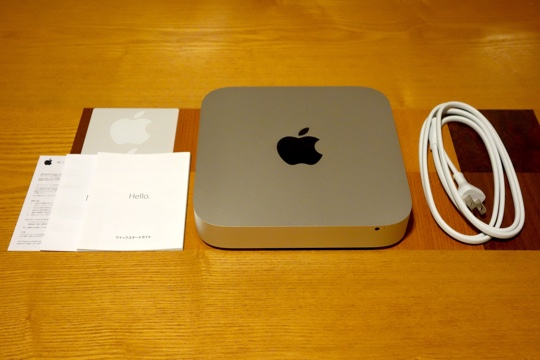 Mac mini開封(3)