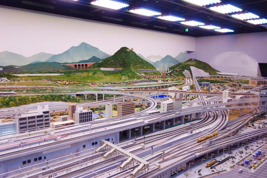 鉄道模型レイアウト