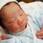 赤ちゃんが生まれました(5年ぶり2度目)