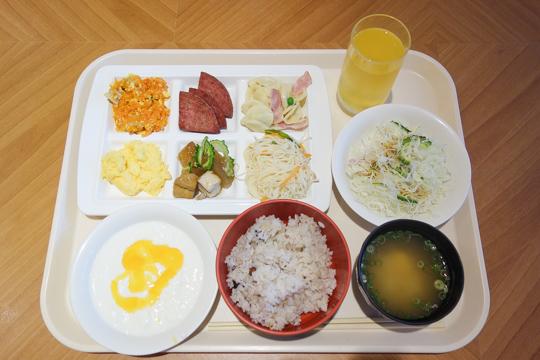 朝食の写真