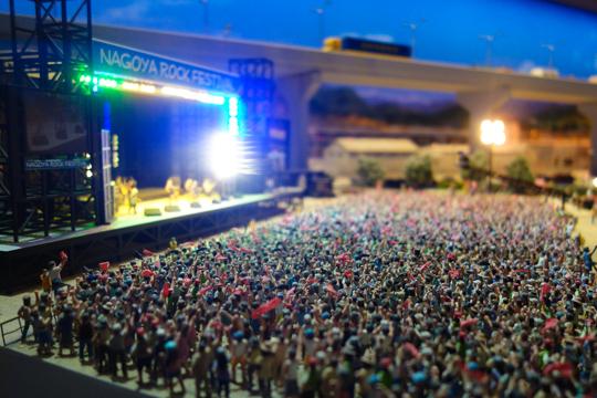 ライブ会場の情景