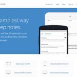 『Simplenote』Webサイト